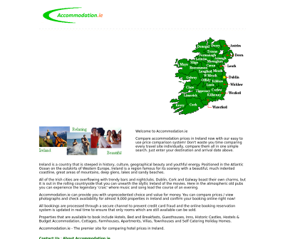 Accommodation in Ireland