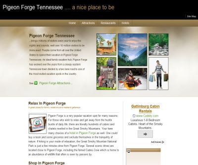 Pigeon Forge Tennessee  Guide