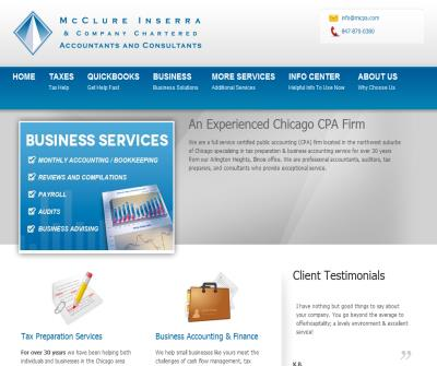 Accountants Home - McClure Inserra CPA - Accountants & Certified QuickBooks Pro Advisors