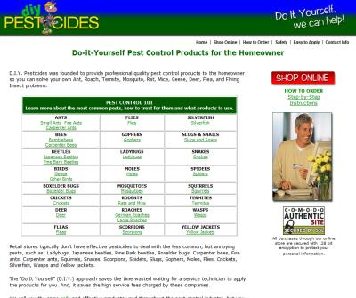 Do It Yourself Pest Control Products for the Homeowner