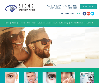 Siems Lasik Los Angeles Newport Beach Las Vegas, Los Angeles Lasik Eye Surgery