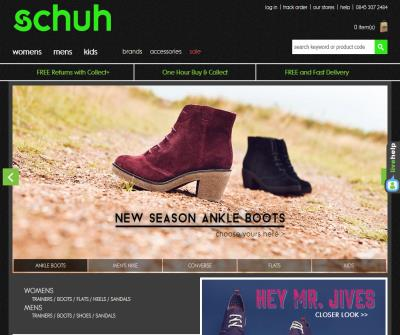 Schuh - Top-brand footwear nationwide