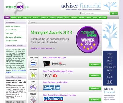 Moneynet - Fast and simple finance comparisons
