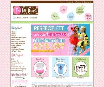 Pink Taffy Designs - Unique and Whimsical Children's Furnishings