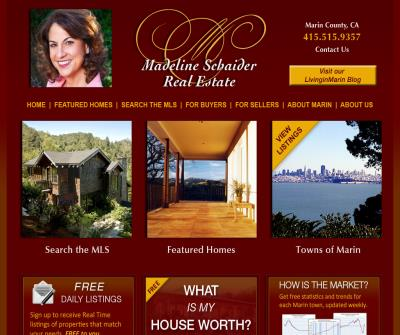 Homes in Marin County, California