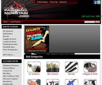 Paintball Guns, Gear, Clothing, Parts, Accessories