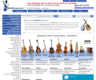 Your Bluegrass Music Superstore