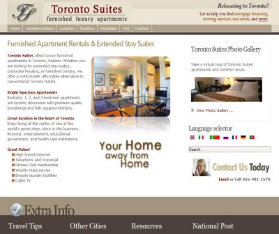 Toronto Suites: Furnished Apartments & Corporate Housing