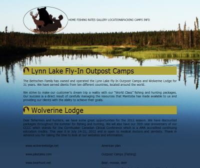 Lynn Lake Fly-In Outpost Camps - canada fishing and Fly in fishing