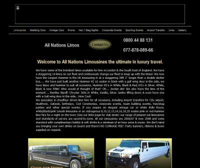 All Nations Limousines