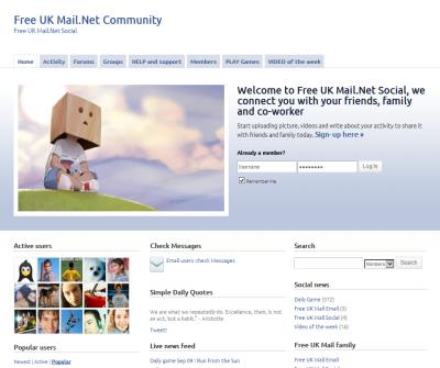 free UK mail  free web mail for the united kingdom