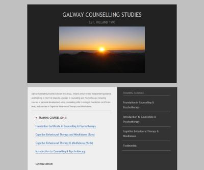Galway Counselling Studies