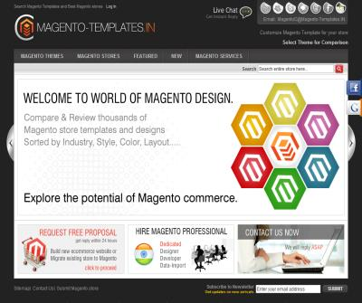Find Magento Templates and Best Magento stores
