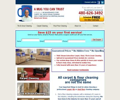 Your Tile, Grout, Carpet, Vinyl Floor Cleaning Experts | A Mug You Can Trust