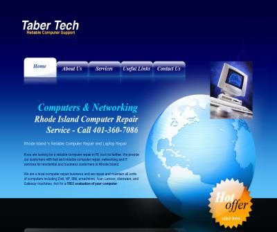 Rhode Island Computer Repair - Taber Tech Services