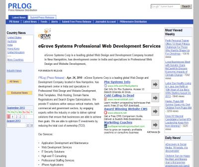 eGrove Systems Professional Web Development Services