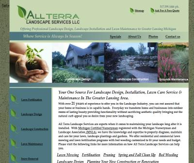 Lansing MI Landscape Designers, Landscape Installers and Lawn Maintenance. All Terra Landscape Services LLC