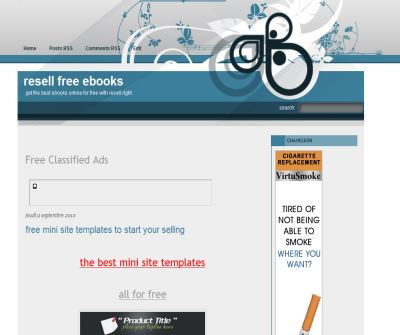 resell free ebooks