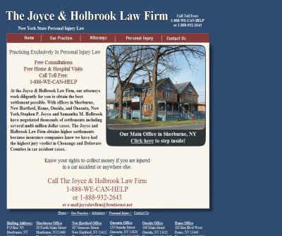 The Joyce & Holbrook Law Firm