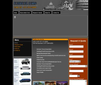 Fairfax limo car service at BWI , IAD , DCA airports