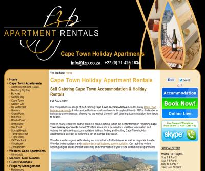 Cape Town Holiday Accommodation