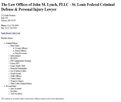 The Law Offices of John M. Lyn