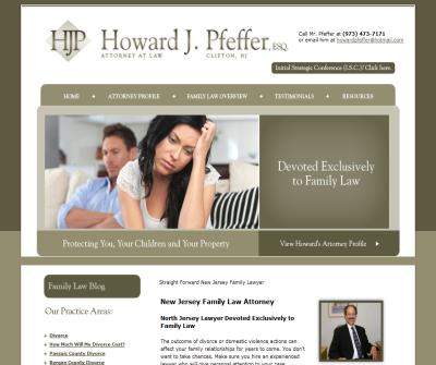 Howard J. Pfeffer, Esq. Attorn