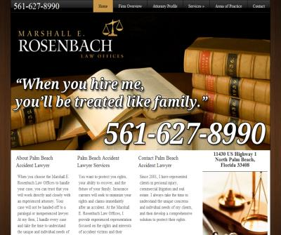 Law Offices of Marshall E. Rosenbach