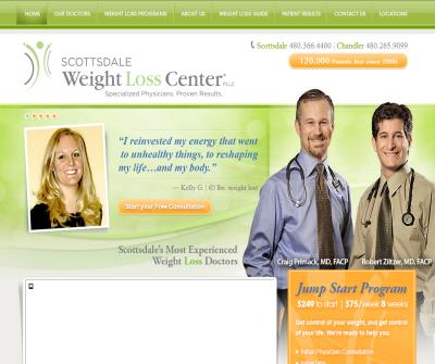 Scottsdale Weight Loss Center Dr. Primack and Ziltzer Comprehensive Physician-Supervised Diet & Medical Weight Loss Program