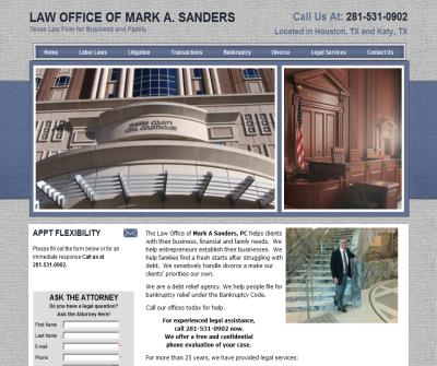 Law Office of Mark A. Sanders