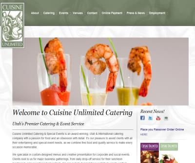 Salt Lake City Park City Wedding Caterers