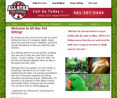 All Star Pet Sitting