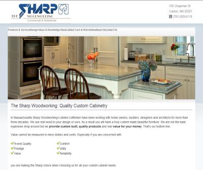 The Sharp Woodworking: Quality Custom Cabinetry