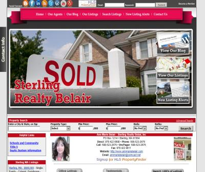 Ann Marie Belair - Sterling Realty Belair Experienced inovative Real Estate Agent