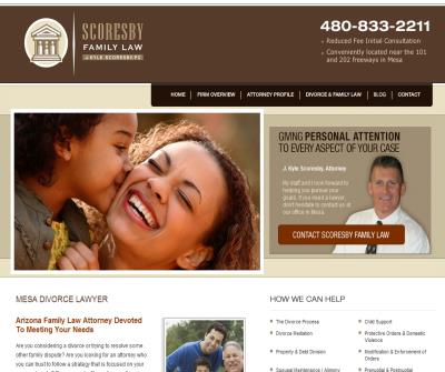 Scoresby Family Law - J. Kyle Scoresby, P.C.
