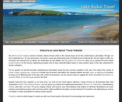 Lake Baikal Travel. Tour Operator & Travel Guide