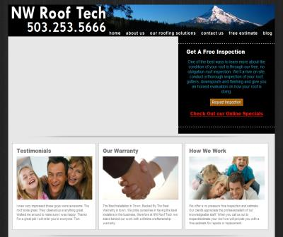 NW Roof Tech : Oregon Roofing Contractors