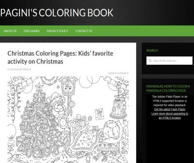 Cartoons Coloring Book.