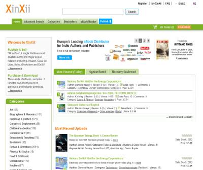 XinXii - Online Marketplace for E-Books & Documents