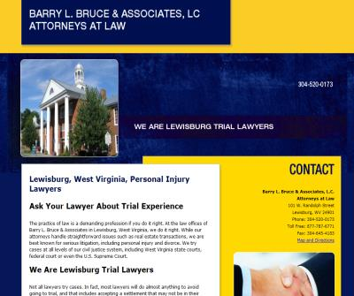 Barry L. Bruce & Associates, LC Attorney at Law