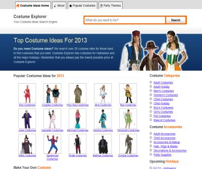 Costume Explorer 15,000 Unique Costumes Popular Costume Ideas Halloween, Christmas, New Years
