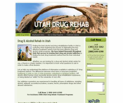Long Term Alcohol And Drug Rehabilitation in Utah