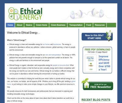 The Ethical Energy