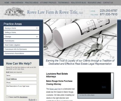 The Rowe Law Firm