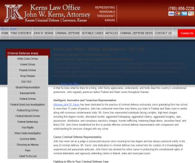 Kerns Law Office John W. Kerns, Attorney