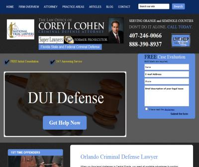 The Law Office of Corey I. Cohen
