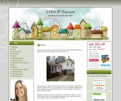Silver Spring, MD Child Day Care | LMNOP Daycare