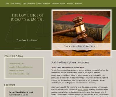Law Office of Richard A. McNeil