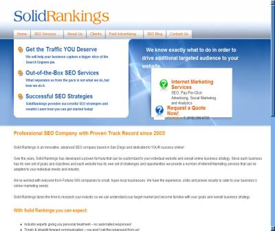 SEO Services from SolidRankings.com