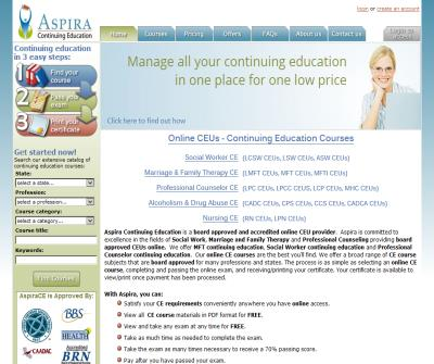 Online CEUs for LCSWs, MFTs, MHCs and LPCs